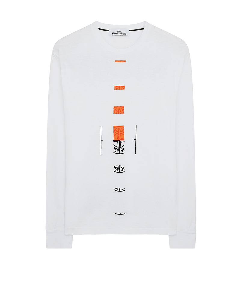 2ML90 'OFFSET' T-Shirt in White