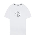 2NS89 'DATA SCAN' T-Shirt in White