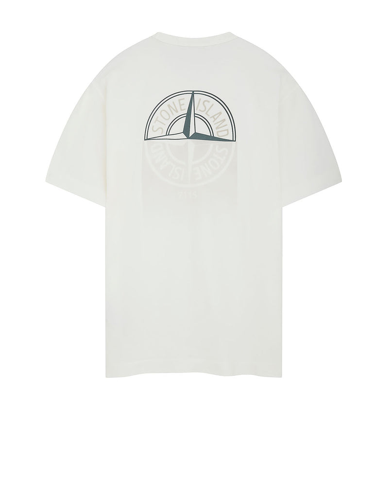 23380 'GRAPHIC ONE' PRINT T-Shirt in Natural