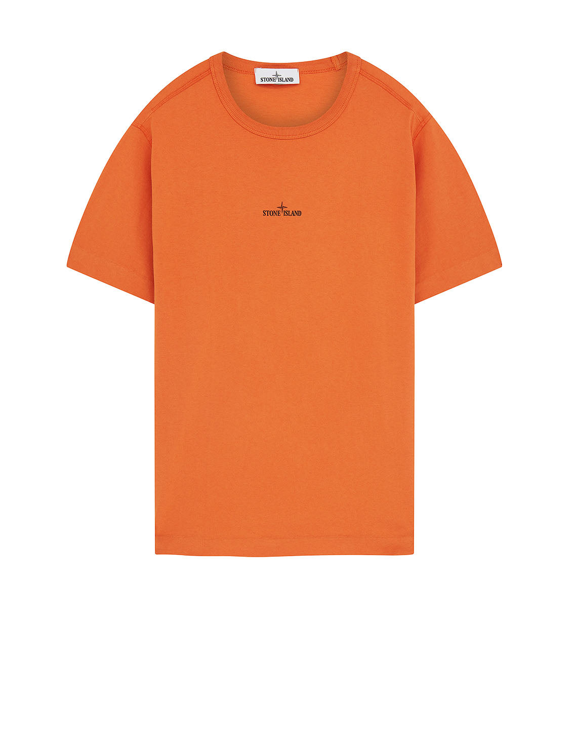 23380 'GRAPHIC ONE' PRINT T-Shirt in Orange