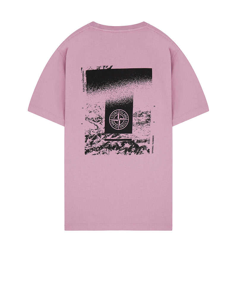 2NS84 'DRONE TWO' T-Shirt in Rose Quartz