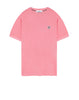 20467 PIGMENT DYE: Short-sleeve T-Shirt in Pink