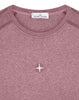 20393 DUST COLOUR: Long-sleeve T-Shirt in Fuchsia