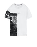 2NS87 MURAL PART 3: Short-sleeve T-shirt in White