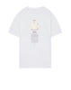 2Ns91 Short Sleeve T-Shirt in White