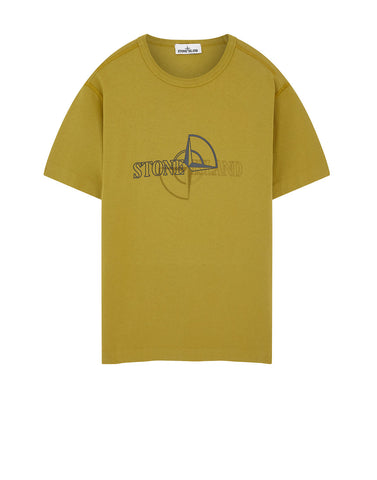 23381 'GRAPHIC TWO' PRINT T-Shirt in Yellow