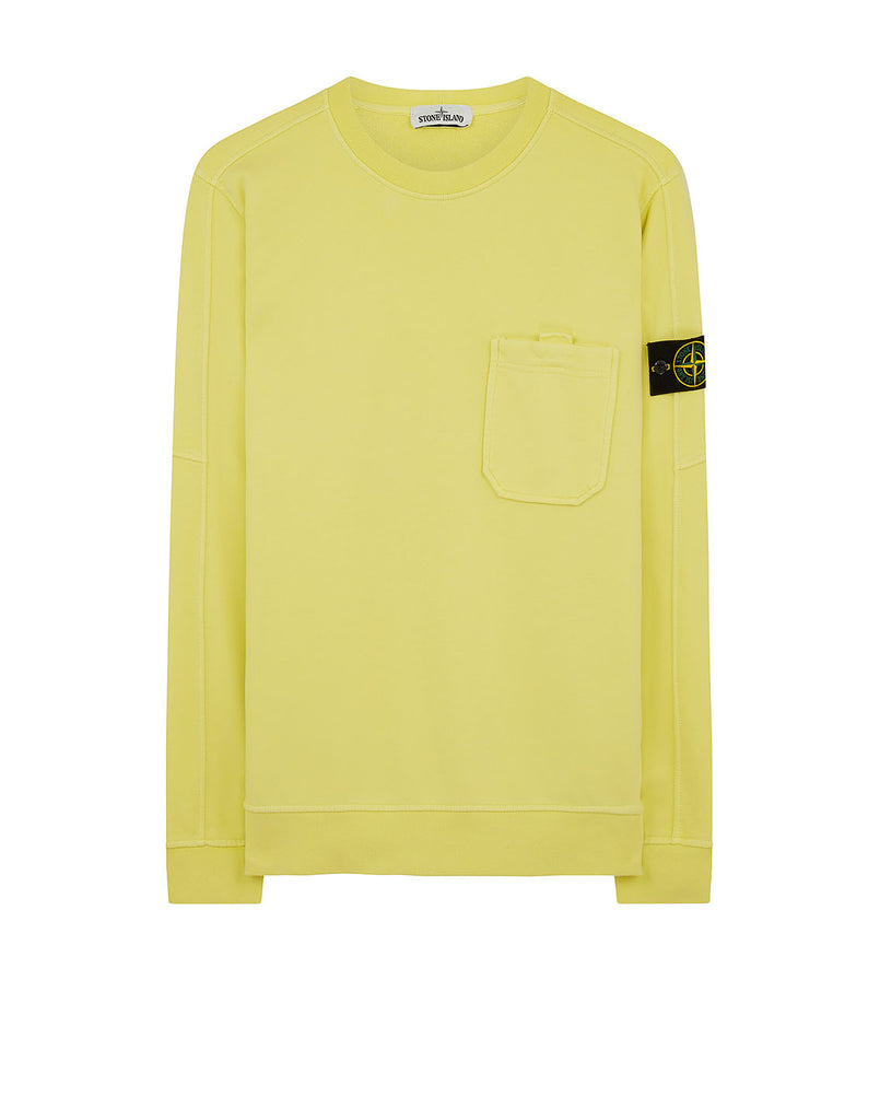 60651 Pocket Sweatshirt in Lemon