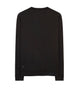 60107 CREWNECK SUPIMA FELPA SWEATSHIRT in Black