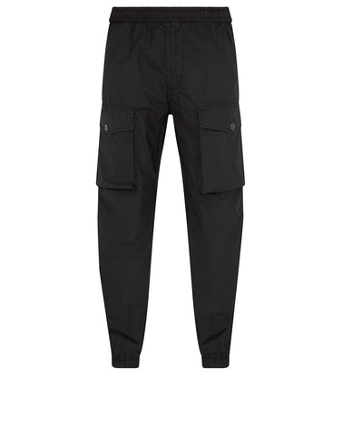 31703 Cargo Trousers in Black