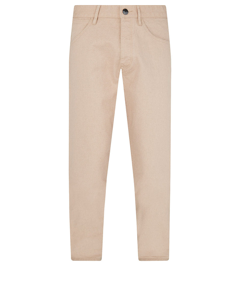 J02J1 PANAMA PLACCATO RE-T Trousers in Plaster