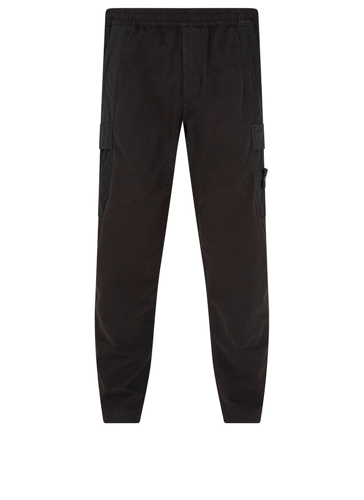 312F2 GHOST PIECE Trousers in Black