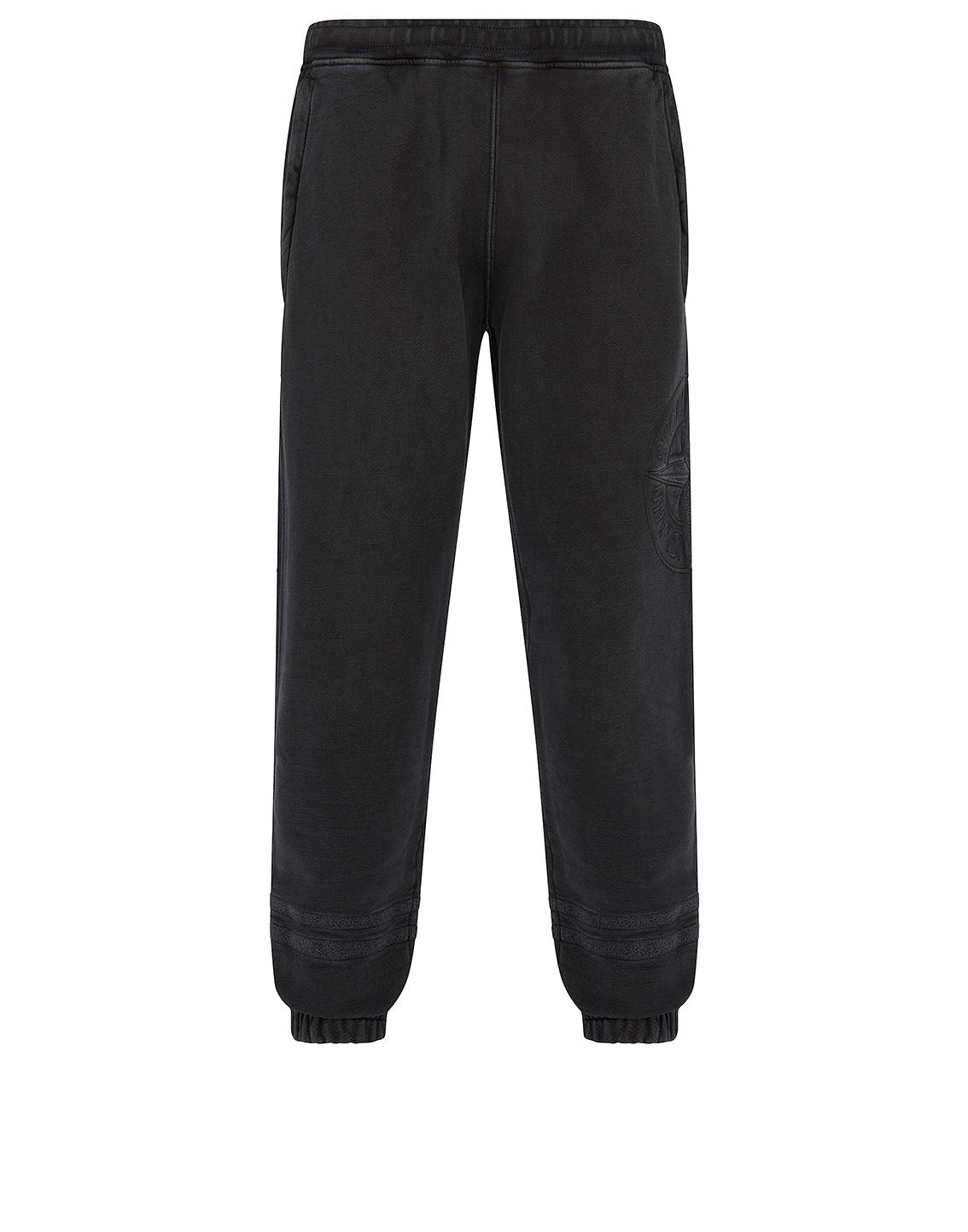 63547 'OLD' DYE TREATMENT Sweatpants in Black