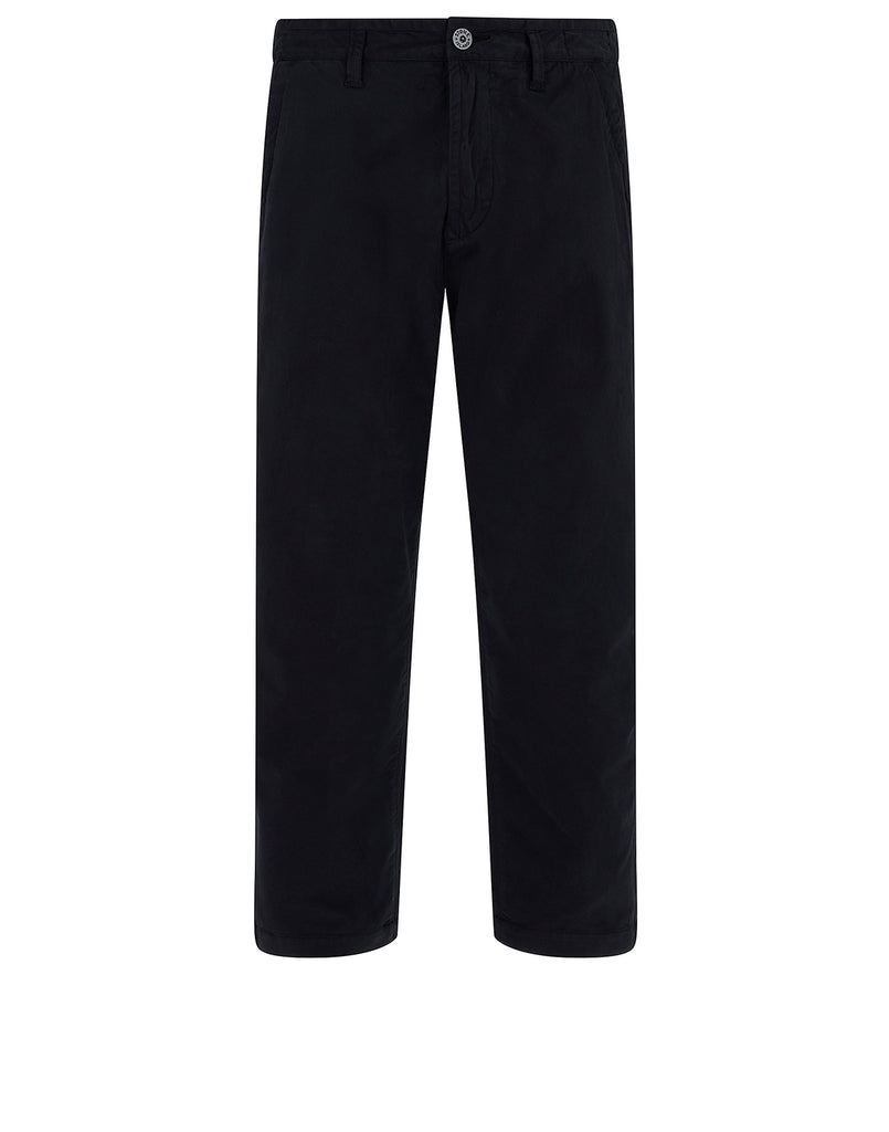 30110 Cotton Trousers in Navy Blue