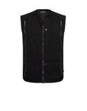 G0101 PADDED VEST in Black