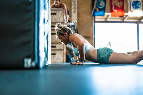 15 Minute AMRAP with 3rd Fittest Teen on Earth Paige Powers