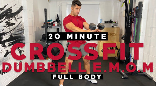 20 Minutes Crossfit EMOM Dumbbell Workout with Faisal PMA