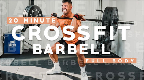 20 Minute Crossfit Barbell Workout with Faisal PMA