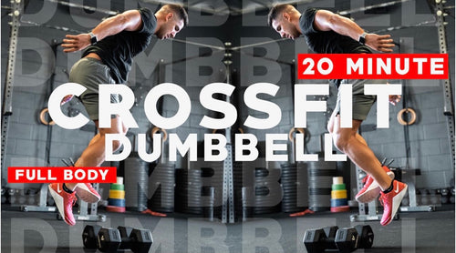 20 Minute Dumbbell HIIT Workout with Faisal PMA