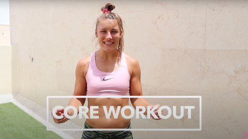 AT HOME CORE WORKOUT | With LAUREN STALLWOOD