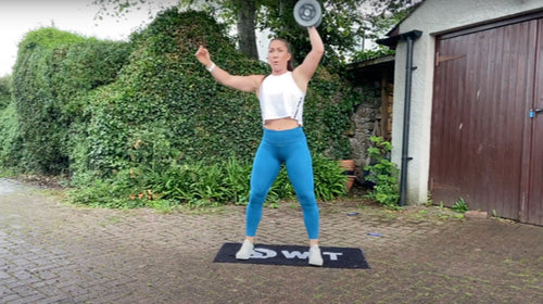 Dumbbell Upper Body Strength and Interval Session with Megan Lovegrove