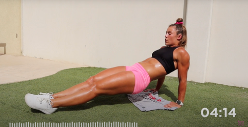 HIIT CORE SESSION | 8 MINUTE 6-PACK ABs WORKOUT | With LAUREN STALLWOOD