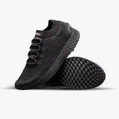 NOBULL Running Shoes NOBULL Black Reflective Knit Runner
