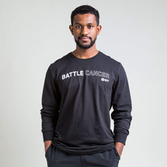 WIT Fitness Long Sleeve T-shirts Battle Cancer L/S Tee