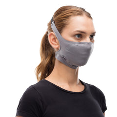 Buff Facemasks One Size / Solid Grey / Unisex Buff Solid Grey Sedona Filter Mask