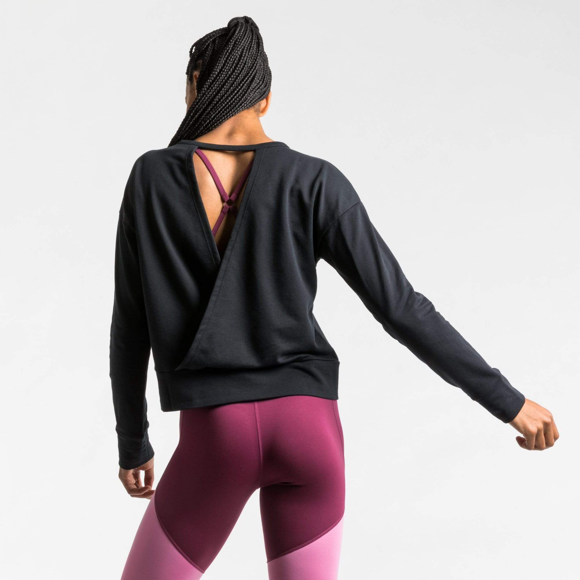 Nike Sweatshirts Nike Wrap Long Sleeve Top