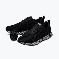 NOBULL Running Shoes NOBULL 'All You Need Is Love' Black Mesh Runner