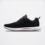 NOBULL Black Gum Diamond Mesh Runner