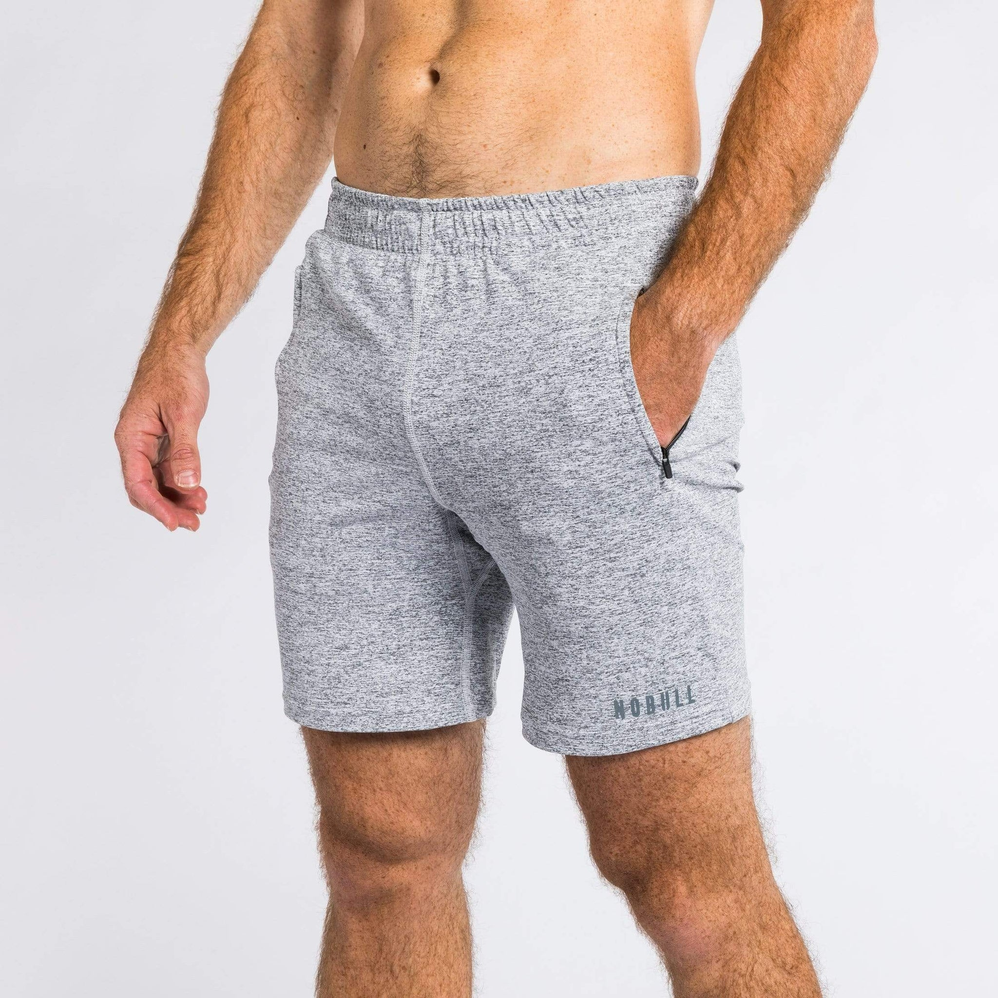 NOBULL Shorts NOBULL Heather Knit Shorts
