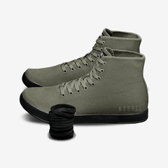 NOBULL Trainers NOBULL High-Top Army Black Trainer