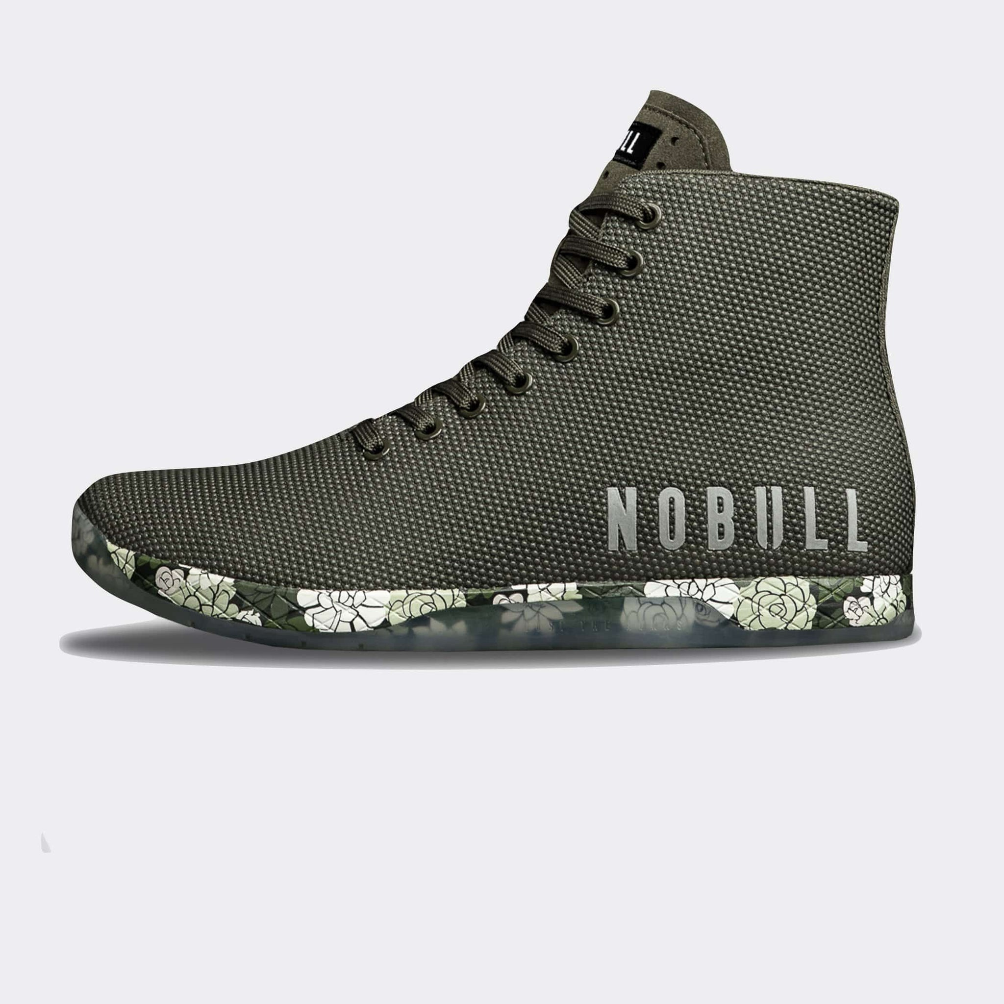 NOBULL Trainers NOBULL High-Top Army Succulent Trainer