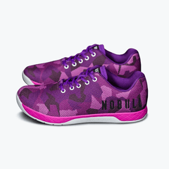 NOBULL Trainers UK 3.5 / US M 4.5 / US W 6 / Pink / Unisex NOBULL Purple Camo Trainer
