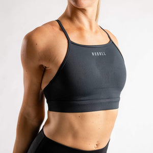 NOBULL Sports Bras NOBULL Solid High-Neck Sports Bra