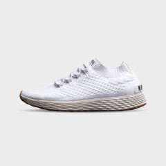 NOBULL Running Shoes NOBULL White Ivory Knit Runner