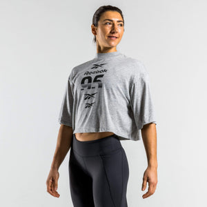 Reebok T-shirts Reebok Workout Ready Myoknit Reebok 95 Graphic Tee