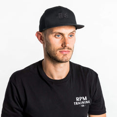 RPM Training Caps One Size / True Black / Unisex RPM Training Senter Snapback