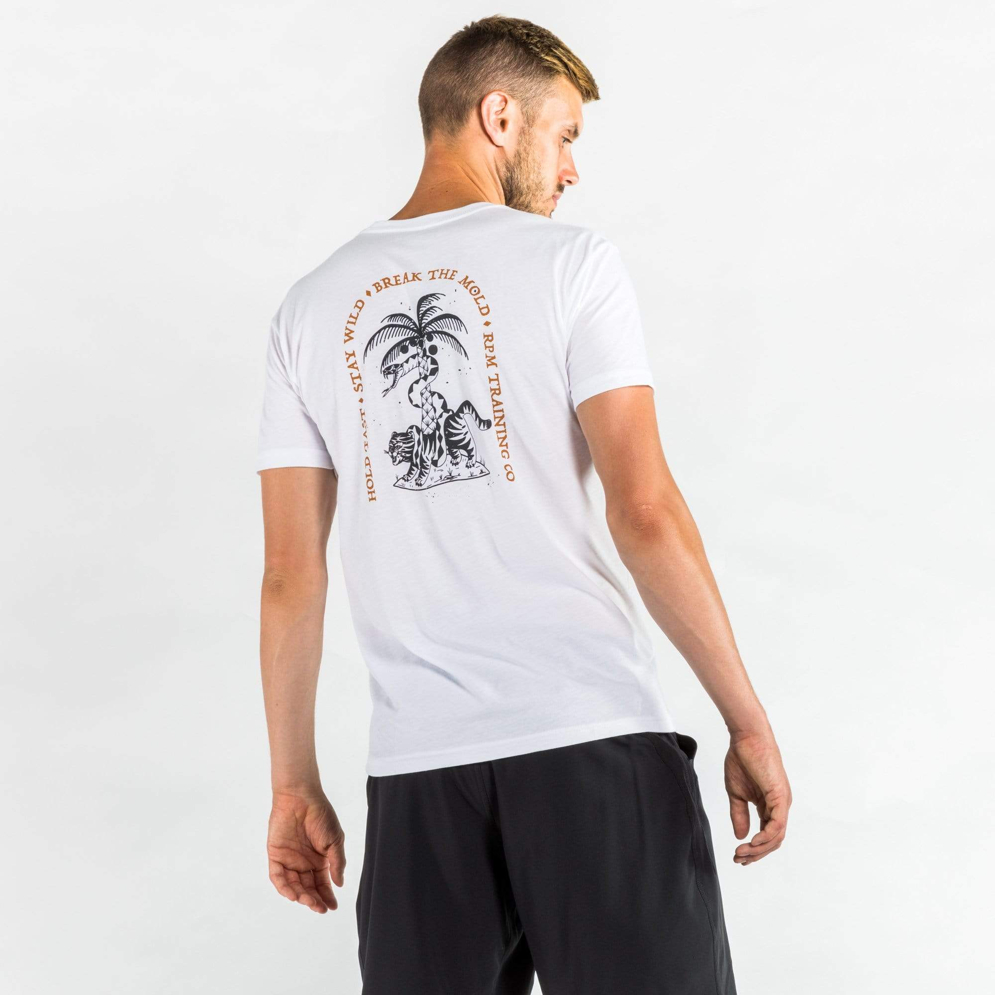 RPM Training T-shirts RPM Training Serpent and the Stripes Tee