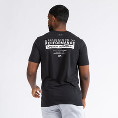 "Under Armour T-shirts Under Armour Bar ""Originates of Performance"" Tee"