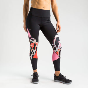 Under Armour Leggings Under Armour Rush Print Colour Block Leggings