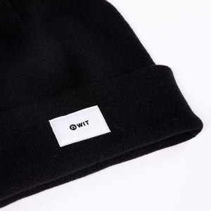 WIT Fitness Beanies One Size / Black / Unisex WIT Beanie