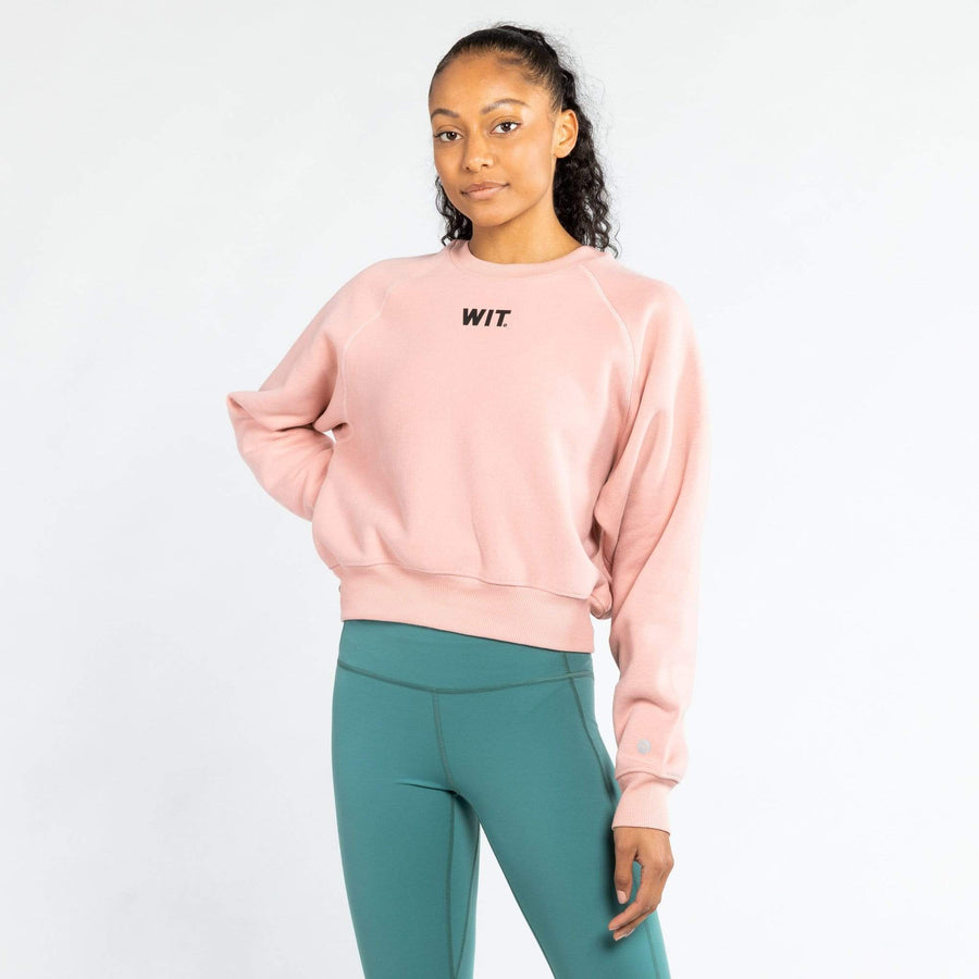 WIT Fitness Sweatshirts WIT Logo Crop Sweatshirt