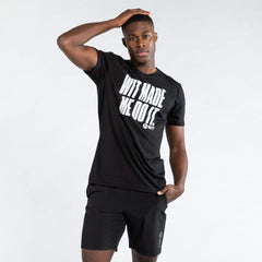 WIT Fitness T-shirts WIT Made Me Do It Tee