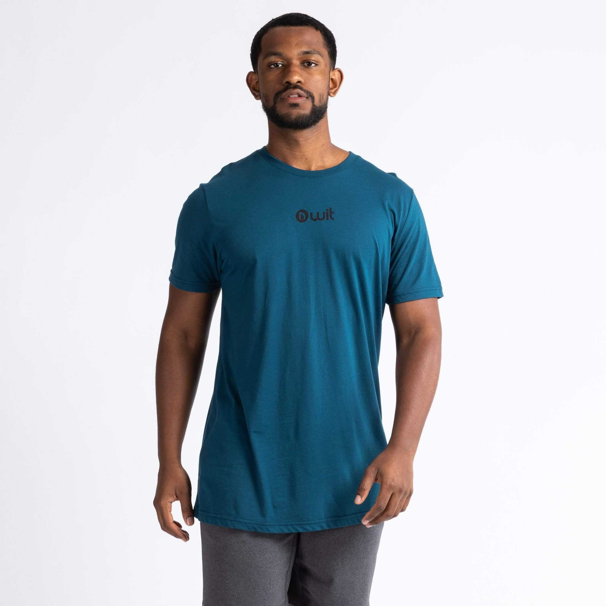 WIT Fitness T-shirts WIT Mountain Sunset Tee