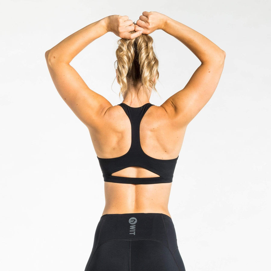 WIT Fitness Sports Bras WIT Open Back Bra