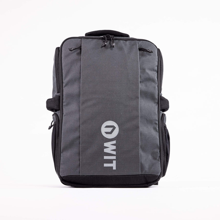 WIT Fitness Bags L / Dark Shadow / Unisex WIT Ripstop Backpack