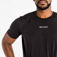 WIT Fitness T-shirts WIT Want It, Get It. Tee (keep offline)