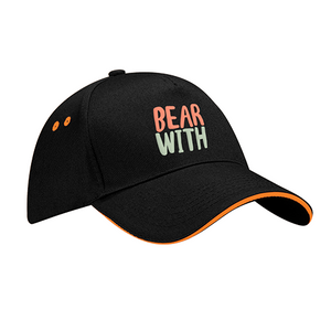 Bear with Baseball Cap
